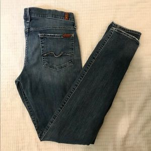 7 for all mankind skinnys